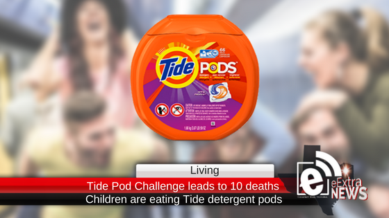 Ten deaths and 37 poison cases reported after children take the Tide detergent pod challenge