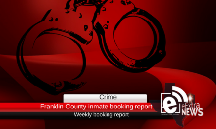 Franklin County inmate weekly booking report || February 26, 2018