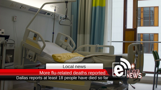 Health news: At least 18 people have now died in Dallas from the flu