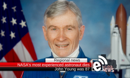 Regional news: NASA announces its most experienced astronaut has died