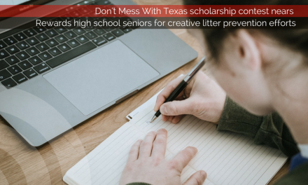 Don't Mess With Texas scholarship contest draws near