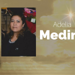 Adelia Medina of Mt. Pleasant, Texas