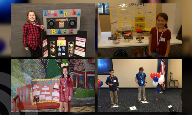 MPISD students bring home medals from Region 8 Science Fair