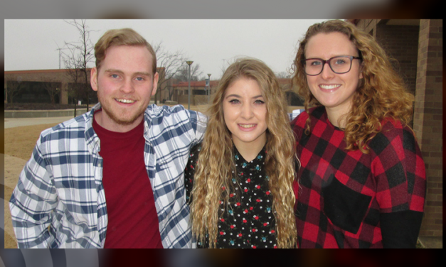 Three students from Honors Northeast present essays at 'Lunch and Learn'
