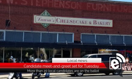 Candidate meet-and-greet set for Tuesday at Laura's Cheesecake