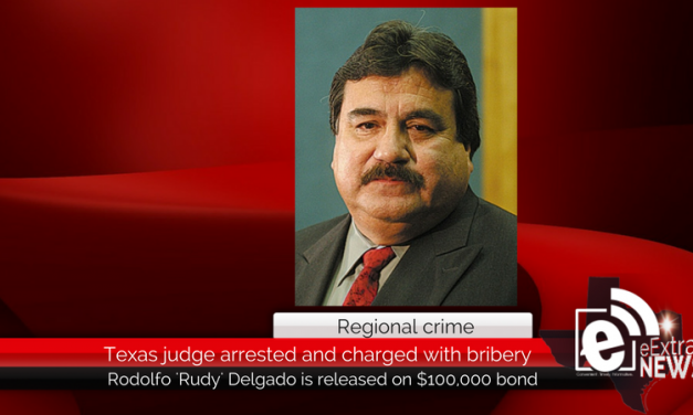 Texas judge arrested and charged with accepting bribes