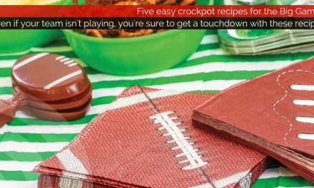 Even if your team isn't playing, you're sure to get a touchdown with these recipes