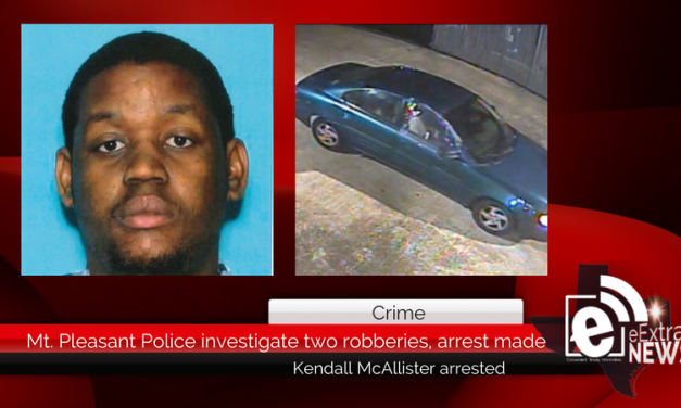 Mt. Pleasant Police investigate two robberies, arrest made