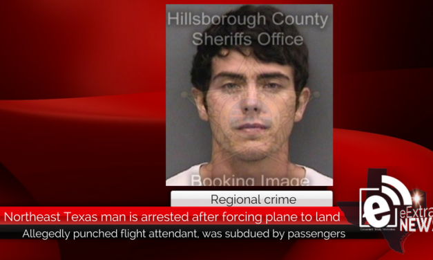 Northeast Texas man is arrested after forcing plane to make emergency landing