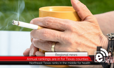Northeast Texas ranks in the middle for healthiest counties in the state