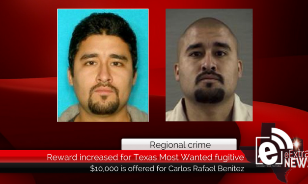 Reward increased for Texas Most Wanted fugitive