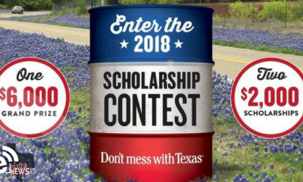 Applications going fast for Don't Mess with Texas scholarship