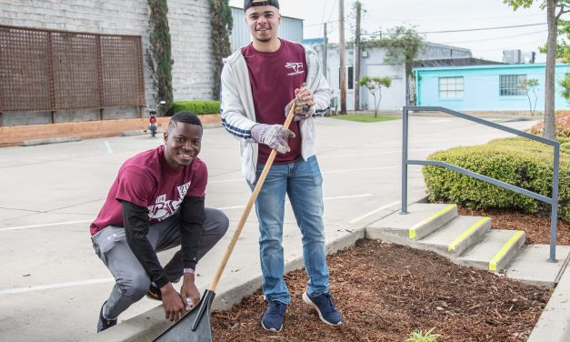 TAMUT's Big Event gives over 1100 hours of service