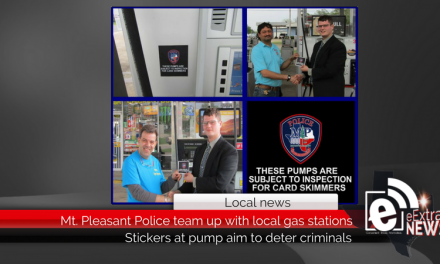 Mt. Pleasant Police team up with local gas stations