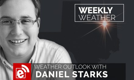 Weekly weather outlook by Daniel Starks