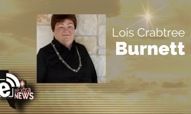 Lois Crabtree Burnett of Forney, Texas formerly of Mt. Pleasant