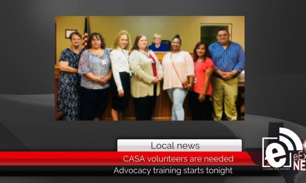 CASA volunteers are needed || Advocacy training starts tonight