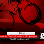 Franklin County inmate booking report || January 14, 2018
