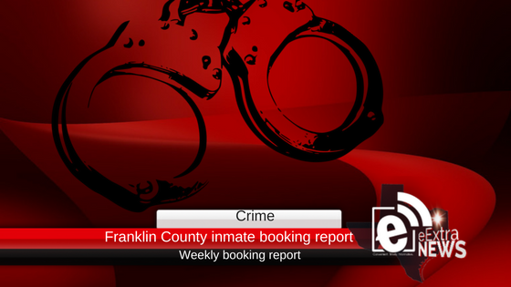 Franklin County inmate booking report || November 6, 2018