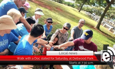 Walk with a Doc slated for Saturday at Dellwood Park