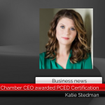 Mt. Pleasant-Titus County Chamber CEO awarded PCED Certification