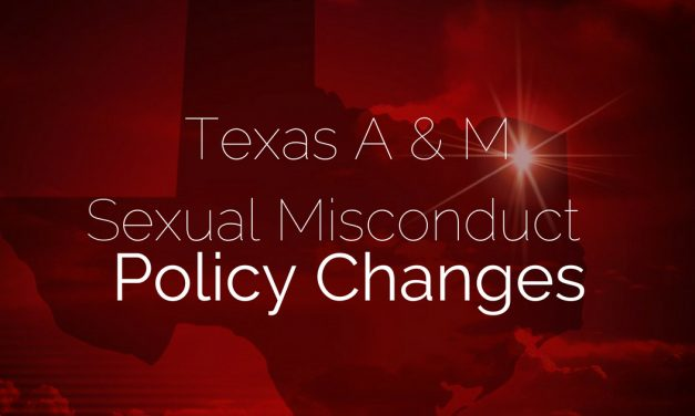 New sexual misconduct policies at Texas A&M will take effect immediately on all campuses