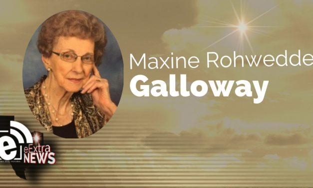 Maxine Rohwedder Galloway of Mount Pleasant, TX