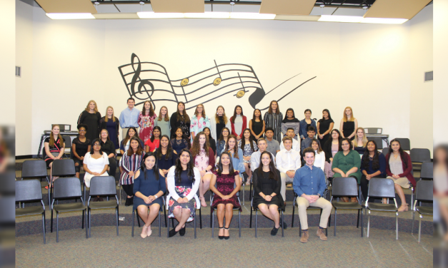 Mount Pleasant High School National Technical Honor Society inducts new members