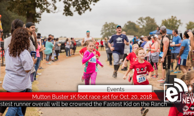 Mutton Buster 1K foot race set for Oct. 20, 2018