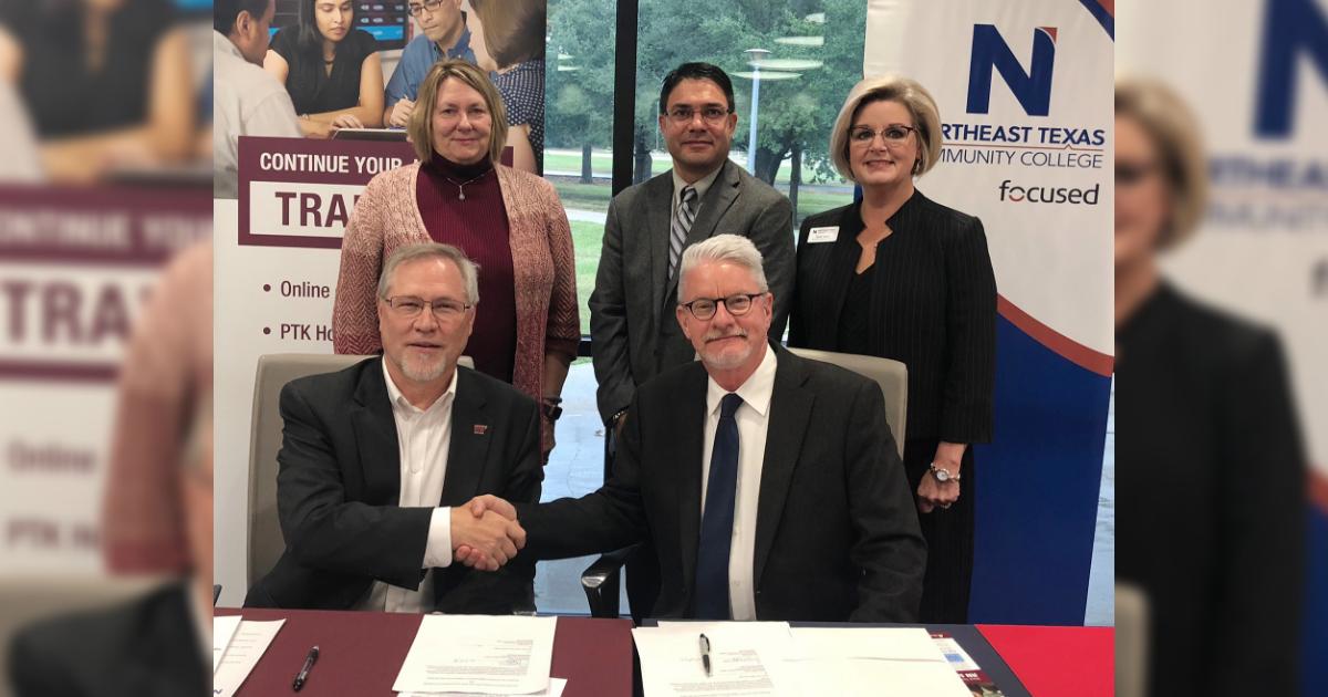 Ntcc Signs Nursing Transfer Agreement With Wtamu