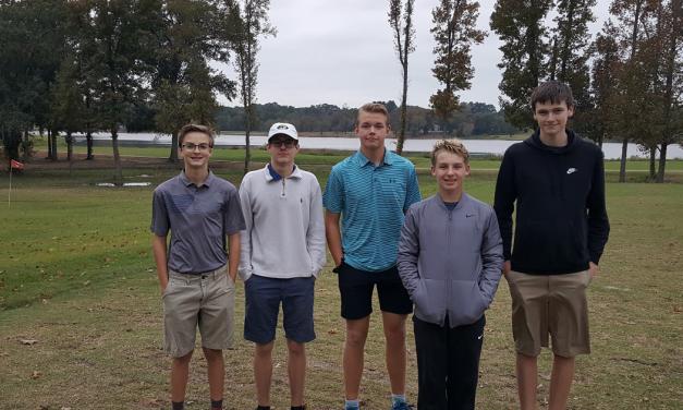 Mount Pleasant High School JV golf team takes second