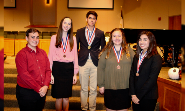 Mount Pleasant High School Congressional debaters qualify for state