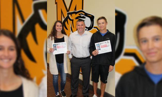 Mount Pleasant High School seniors named Wendy's Heisman winners