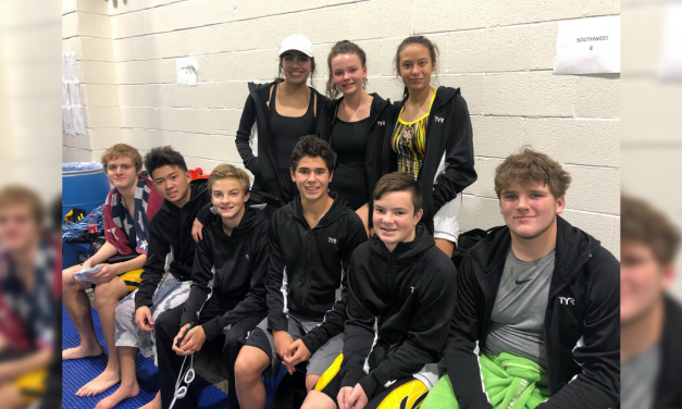 Mount Pleasant High School swimmers compete in Carrollton