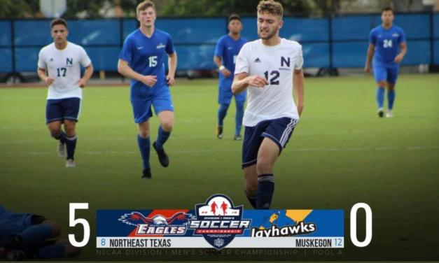 NTCC Men's Soccer advances in national tournament