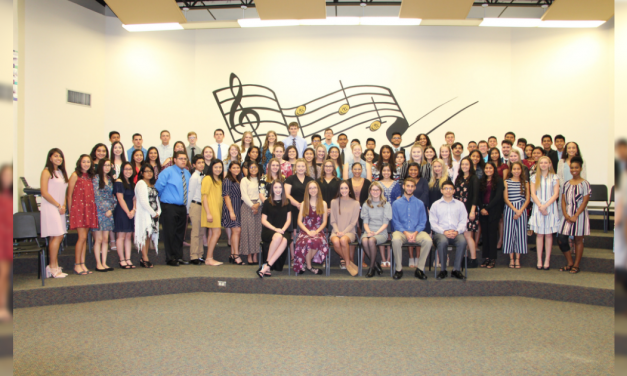 Mount Pleasant High School holds National Honor Society induction ceremony