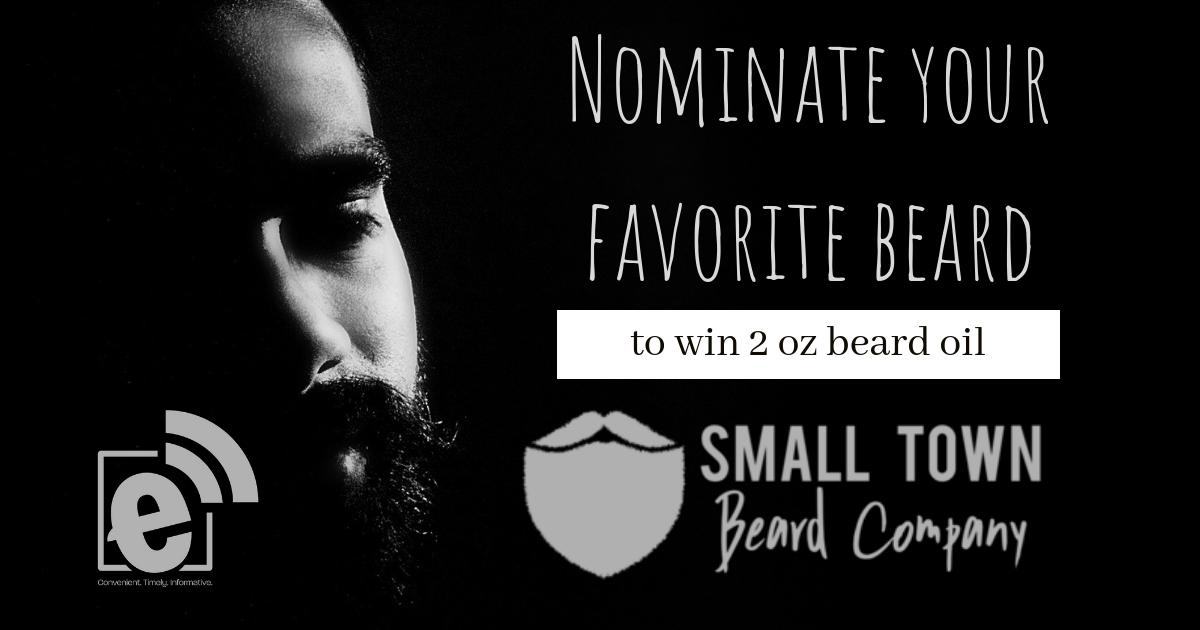 Nominate your favorite beard    Winner receives 2oz beard oil for No-Shave November