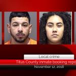 Titus County inmate booking report || November 12, 2018