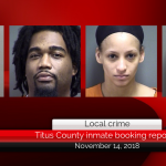 Titus County inmate booking report || November 14, 2018