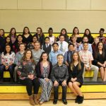 Mt. Pleasant Junior High School Students Inducted into NJHS