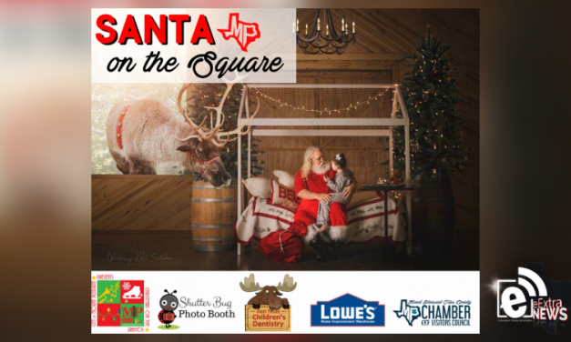 Santa is coming to town when he visits the square Friday and Saturday