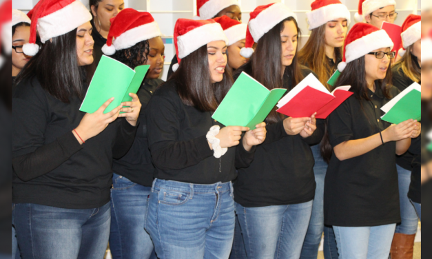 MPHS Choir goes caroling