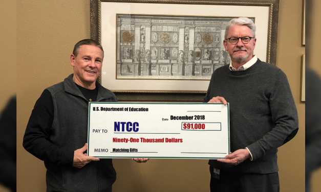 NTCC receives $91,000 for matching funds