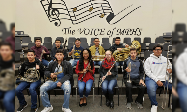 MPHS students named to high school All-Region Band