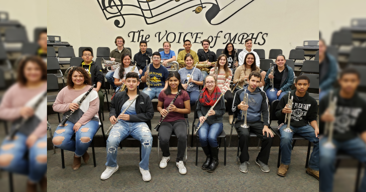 MPHS band members awarded scholarships