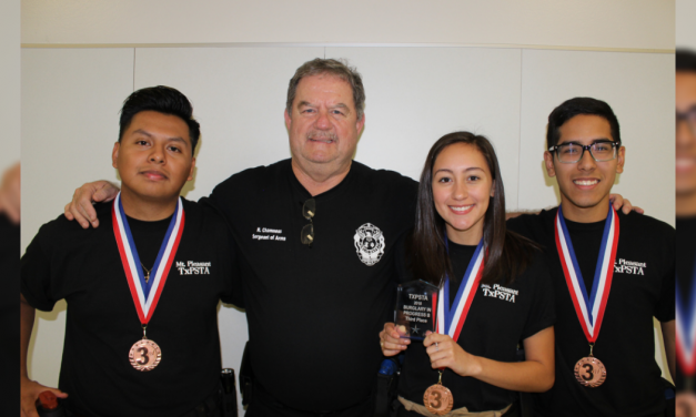 MPHS students compete at Texas Public Service Teacher Association contest