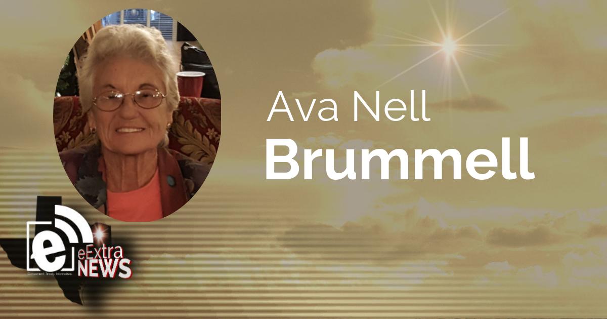 Ava Nell Brummell of Pittsburg, Texas