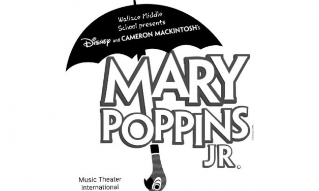 Wallace middle school presents 'Mary Poppins Jr.'