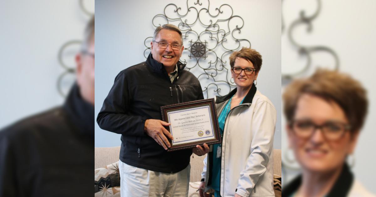 Cypress Basin Hospice honors veterans
