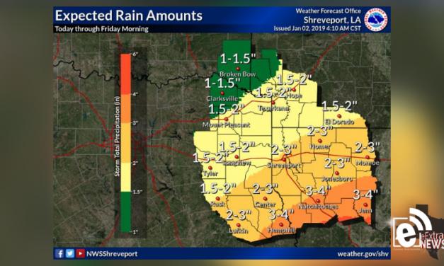 Rain is rapidly spreading across the region